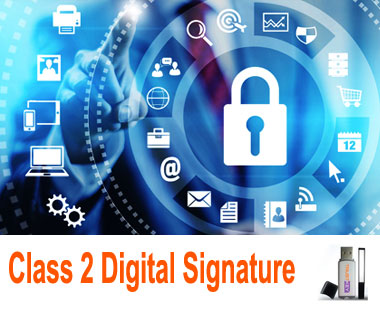 Apply by class digital signature certificate in India